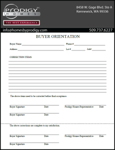 Buyer Orientation