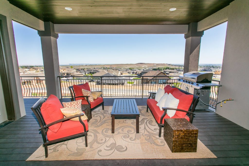 Patio from Prodigy Homes, Inc. Tri-Cities home builder. Kennewick, Richland, West Richland, and Pasco. Washington.