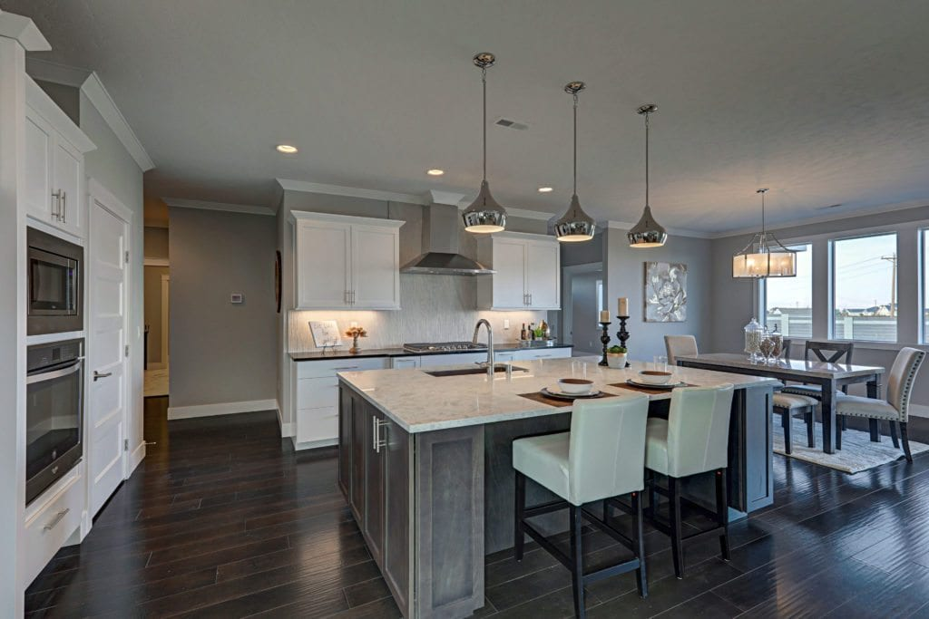 This gorgeous kitchen is part of Prodigy's new model home in Pasco, Washington.