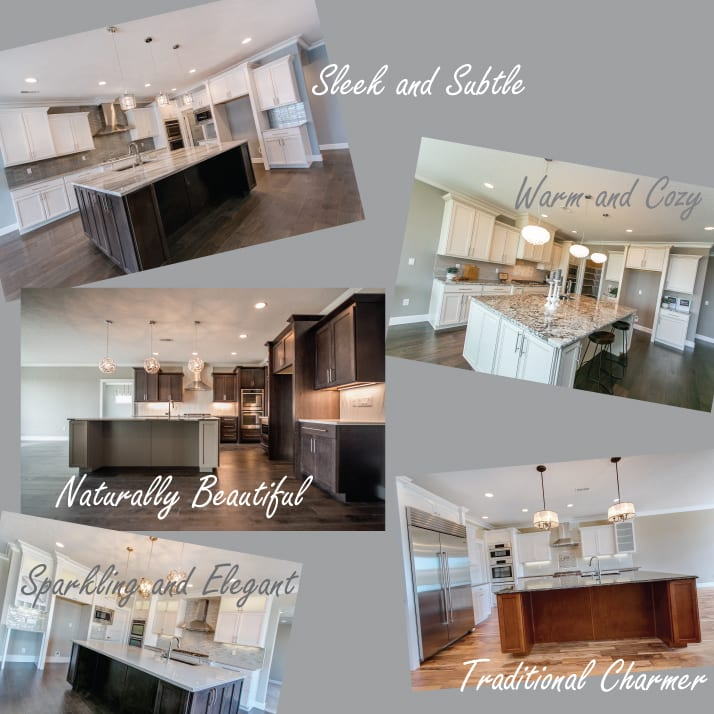 Just how much room is there to create a truly unique home when you build with Prodigy? To show you, we're comparing 5 different kitchens from our Beethoven plan. Same room, same floorplan, 5 very different styles! Prodigy Homes, Inc. is building new homes in Kennewick, Richland, West Richland, and Pasco, Washington.