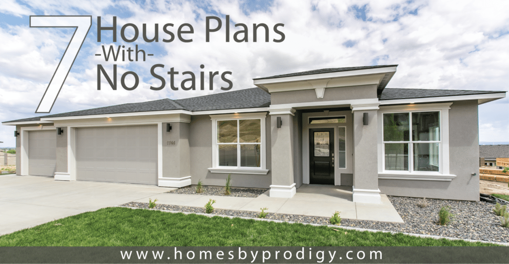 More than ever before, accessibility is very important to home owners. Here are 7 of our most accessible plans. No stairs here!